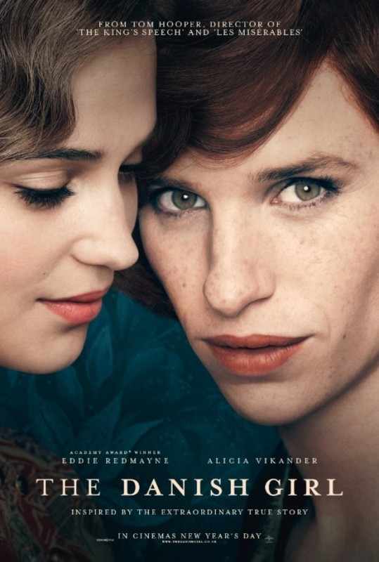 The Danish Girl locandina